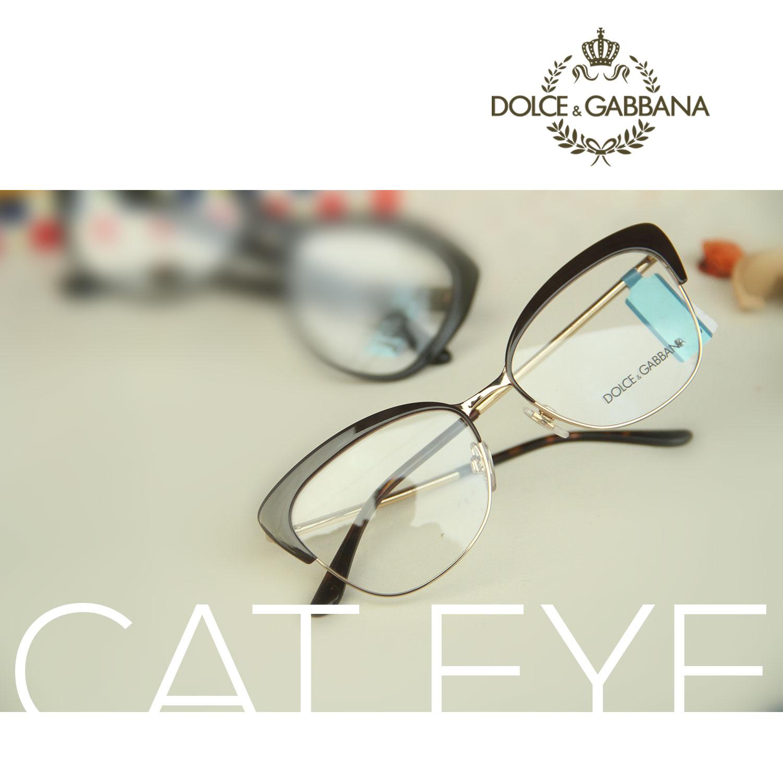 Dolce & Gabanna Cat-Eye frame glasses — Óptica Rapp